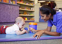 Building Cognitive Skills in Our Infant Program