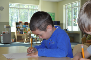 Handwriting in Kindergarten