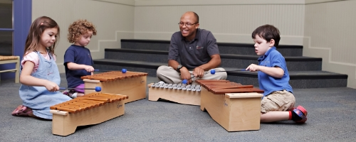 Hands-on Music Class