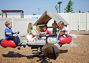 Private Playground at Preschool
